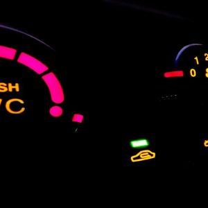 car airconditioning dark